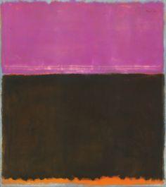 "Uit ""Ik maak kunst dus ik ben"" op http://charlottedemey.be/ik-maak-kunst-dus-ik-ben/ Mark Rothko (1903-1970), Zonder titel, 1953, gemengde techniek op doek, 195 x 172,1 cm, National Gallery of Art, Washington – schenking The Mark Rothko Foundation, Inc. © 1998 Kate Rothko Prizel & Christopher Rothko /Artists Rights Society (ARS), New York c/o Pictoright Amsterdam 2014"