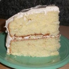 White Almond Wedding Cake  http://www.keyingredient.com/recipes/186677852/white-almond-wedding-cake/