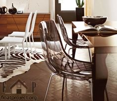 Chairs are so common pieces of furniture that nobody really pays attention to them. However, they can make your home more attractive and inviting. Choose your chairs according to the room you're going to put them and your personal taste.