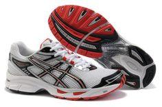 Men Asics Gel Virage 4 Shoes White Red
