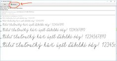 e ke stažení zde >> Psaní v tomto fontu je sna Microsoft, Internet, Math Equations, School Stuff, Montessori