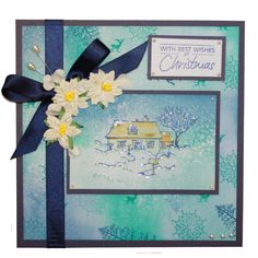 """Brand New """"Country Scenes"""" designed by Sharon Bennett. Clear set consists of 11 stamps Country Scenes, Art Cards, Seasons, Handmade Cards, Evans, Christmas Ideas, Stamps, Rice, Crafts"""