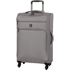 New Trending Luggage: IT Luggage Mega Lite Luggage Spinner Collection Upright, 26 Inch - Flint Gray. IT Luggage Mega Lite Luggage Spinner Collection Upright, 26 Inch – Flint Gray  Special Offer: $59.99  366 Reviews Make travel easier with the 27.4″ Megalite spinner from IT Luggage. Available in a variety of colours, this ultra-lightweight case is perfect for packing more...