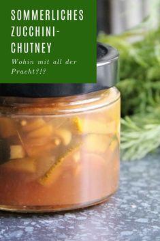 Den Geschmack des Sommers bewahren: ZucchiniChutney Zucchini, Food, Rezepte, Essen, Yemek, Squashes, Meals