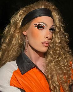 Drag Queen Makeup, Drag Makeup, Queen Aesthetic, Aesthetic Makeup, Makeup Eye Looks, Eye Makeup, Katya And Trixie Mattel, Trinity Taylor, Farrah Moan