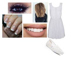 """""""Random"""" by hey-mate ❤ liked on Polyvore featuring Alice In The Eve, TOMS, Bow & Arrow and OPI"""