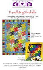 Marti and Me Club Pattern Tessellating Windmills