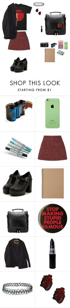"""""""the radical"""" by micypat ❤ liked on Polyvore featuring Lomography, Isa Arfen, Muji, Barbour, Topshop, women's clothing, women, female, woman and misses"""
