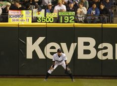 The 'Ichimeter' was a familiar sight at Safeco Field during Ichiro's tenure. (AP)  READ THE ARTICLE ATTACHED: HE'S A CLASS ACT.