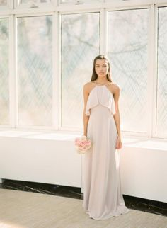 From sparkly metallics to soft neutrals to the prettiest shade of pink ever, 2018 is looking to be a good year. | Gown: Bari Jay | Photography: You Look Lovely Fine Art Photography #sponsored #bridesmaiddresses