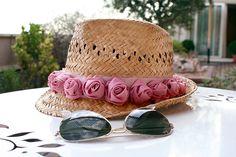 Mi primera máquina de coser: CR: Sombrero de playa