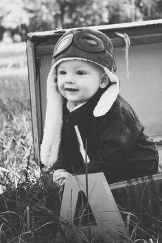 Baby boy aviator theme pictures #aviator www.laurenpetry.com