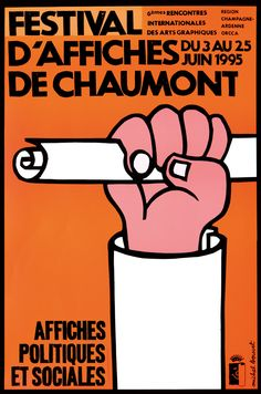 Michel Bouvet, 1995 - International Poster and Graphic Design Festival / 19 posters since 1990