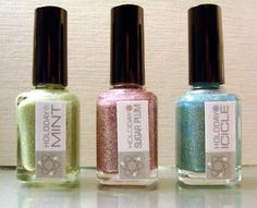 Holoday Trio  Customblended Nail Polish by NerdLacquer on Etsy, $24.00
