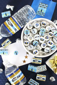 Make your little deputy�s party memorable with our unique policeman decorations. Our police party supplies are perfect for a police birthday party, or even for a party celebrating a special police officer in your community. #policeparty #policebirthday