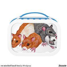 rat mischief lunch box