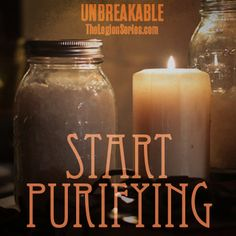 Rock salt plays an important role in warding off spirits. Make sure you have yours so you can start purifying! #unbreakable #thelegionseries #kamigarcia #YAbooks #supernatural #quotes #paranormal *