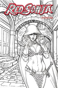 Red Sonja, Battle, Swamp Thing, 21st, Comic Books, Comics, Boys, Character, Things To Sell