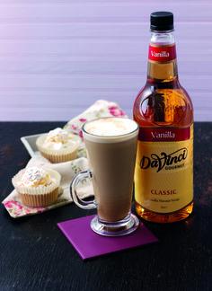 Syrop waniliowy - z nim latte smakuje idealnie.