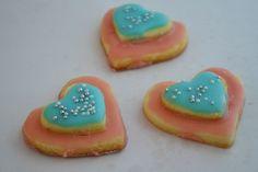 srdiečka farebné Sugar, Cookies, Desserts, Food, Biscuits, Meal, Deserts, Essen, Hoods