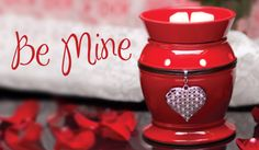 Be Mine: Scentsy January Warmer of the Month! So cute!