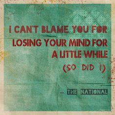 The National   Slipped #songlyrics