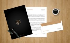 INVESTHAUS // Business Boutique Identity by IndustriaHED , via Behance