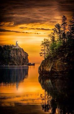 Beautiful view - the north shore of Minnesota