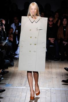 Maison Martin Margiela's version of a raincoat