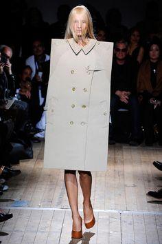 Maison Martin Margiela's version of a raincoat