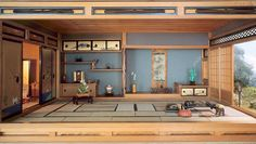 Mrs. James Ward Thorne American, 1882-1966, E-31: Japanese Traditional Interior