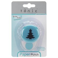 This Holiday Christmas Tree Punch creates crisp and clean shapes with little effort. Perfect for scrapbooking; card making and paper craft projects.