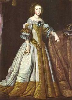Cecilia Renata of Austria, Queen of Poland 17th Century Fashion, 17th Century Art, Baroque Fashion, Royal Fashion, Historical Costume, Historical Clothing, Historical Women, Holy Roman Empire, Dutch Golden Age