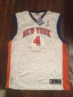 Reebok NBA New York Knicks Nate Robinson Autographed Jersey  627579df9