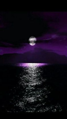 Night Sky Moon, Night Skies, Night On Earth, Water Pictures, Super Moon, Types Of Photography, Beautiful Moon, Optical Illusions, Moonlight