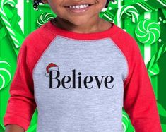 Believe, Toddler Christmas, Youth Christmas Shirt, Santa, Christmas shirts, Xmas, Christmas gift, Believe  GlobalPrintFXs Toddler Christmas Dress, Christmas Dresses, Christmas Shirts, Toddler Dress, Santa Christmas, Christmas Crafts, Xmas, Believe, Toddlers