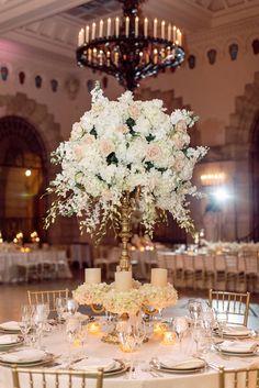Featured Photographer: Erika Delgado Photography; wedding centerpiece idea