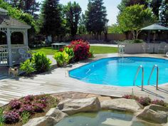 Doughboy Inground Pools | consider a doughboy the affordable alternative with a doughboy pool ...