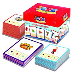 CVC BUILDERS ACTIVITY CARDS 48/SET