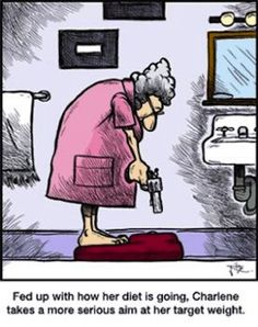 Hilarious cartoon joke about weight loss... For more diet jokes and weight loss humor visit www.bestfunnyjokes4u.com/dieting-humor/