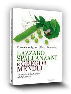Belluccidesign » Cover book | Lazzaro Spallanzano e Gregor Mendel