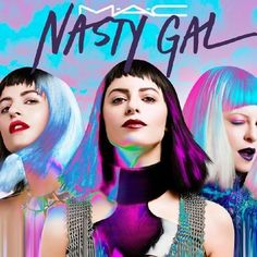 MAC X NASTY GAL COLLABORATION FOR DECEMBER 2014 via all in the blush