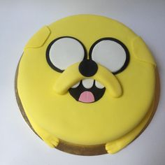 Jake the dog / adventure time cake www.loresbakery.com