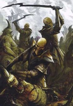 Warhammer Dark Elves, Warhammer Art, Warhammer Fantasy, Dark Eldar, Fantasy Background, Fantasy Heroes, Hidden Face, Fantasy Landscape, Character Inspiration