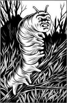 """41 Strange en Twitter: """"Artwork by Comic Book artist Charles Burns https://t.co/MFI8eE1DqM"""""""