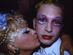 Michael Alig and his mother Elke