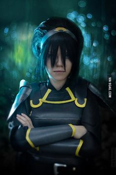 My Toph cosplay