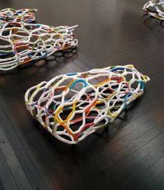 """Positioning """"It´s complicated"""" for exhibition, Studio Louise Campbell works"""