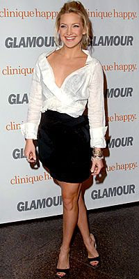 How To: Choose a Great White Shirt - Kate Hudson from #InStyle