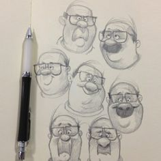 Sketches by Dave Mottram.
